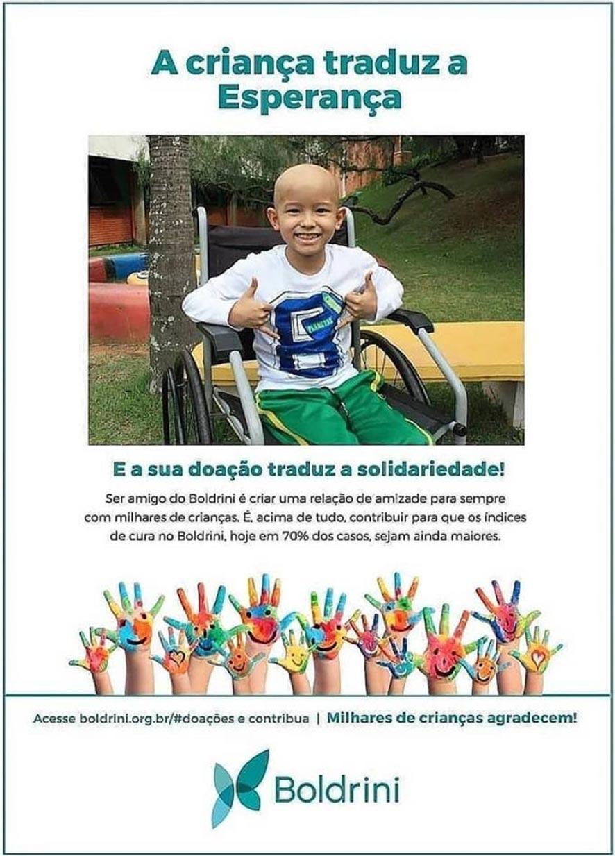 Doação ao Boldrini
